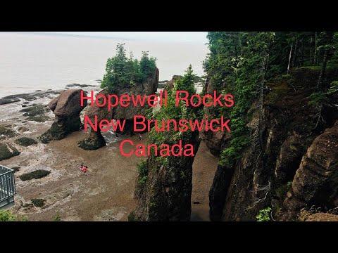 Hopewell Rocks Walking On The Ocean Floor Hopewell Rocks Bay Of Fundy New Brunswick, Canada