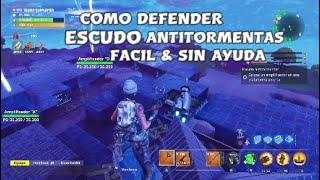 HOW TO DEFEND YOUR ANTI-TORMENT EDY *EASY & NO HELP* IN FORTNITE SAVE THE WORLD! ESP GUIDE