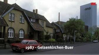 So sah Gelsenkirchen in den 80ern aus