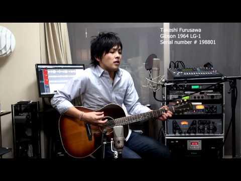 The Times They Are A-Changin' Bob Dylan 古澤剛 Takeshi Furusawa Gibson 1964 LG-1