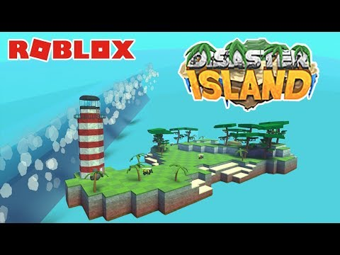 Roblox: Disaster Island 🌊 / Survive Tsunami, Tornados, Fires, Floods, Meteors and More!