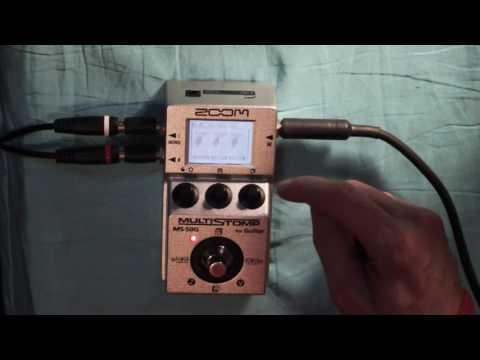 Zoom MS50 Headphone Hack