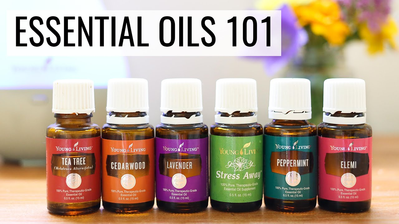 getting started with essential oils tips tricks recipes youtube