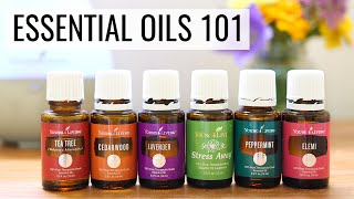 Gambar cover GETTING STARTED WITH ESSENTIAL OILS | tips, tricks + recipes
