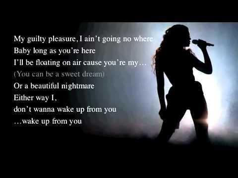 Sweet Dreams   Beyoncé live acoustic instrumental    karaoke