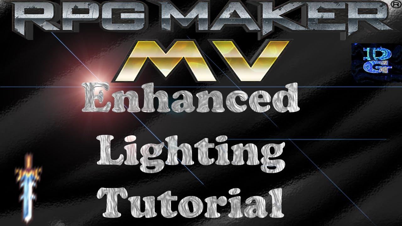 RPG Maker MV Enhanced Lighting Tutorial