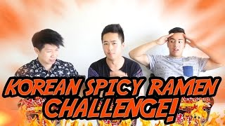 Korean Chilli Ramen Challenge! - WIN SUCKER TICKETS!