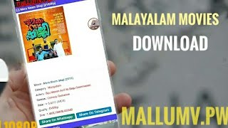 How to download movies from mallumv.pro Malayalam movie downloading website