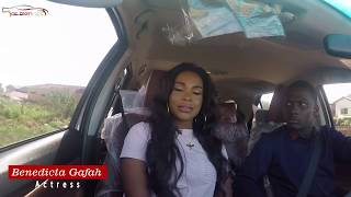 Actress Benedicta Gafah On Celebrity Ride With Zionfelix Show