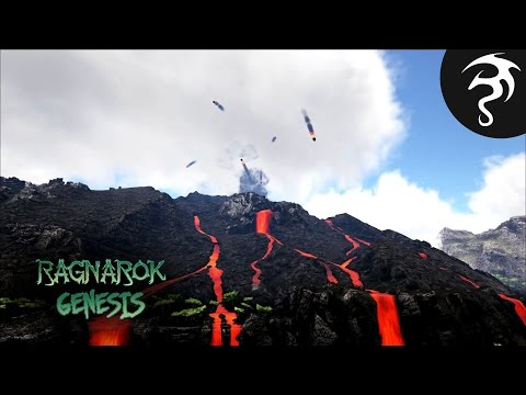AN ERUPTING VOLCANO, BEACHED WHALES, & A LIGHTHOUSE! - Ep14 - Ark Ragnarok Genesis