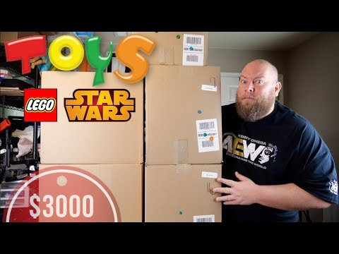 5 Mystery Boxes Valued at $3000 + Amazon Customer Returns Toy Liquidation Pallet + LEGO AGAIN