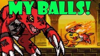 LOST MY BALLS! Digimon Battle Spirt Gameplay
