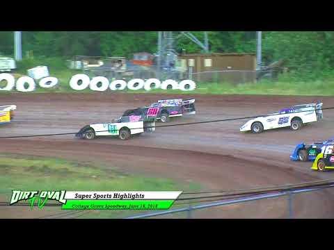 6 16 18 Cottage Grove Speedway Super Sports Highlights