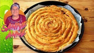 Lor Peynirli Kol Böreği - El açması Börek Tarifi