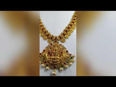 Latest Kasula Mala Long And Short Haram Designs In 2019
