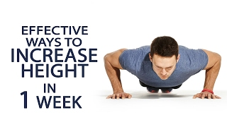 Effective Ways To Increase Height In 1 Week | Best Tips To Increase Height Naturally