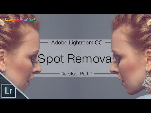 Lightroom 6 / CC Tutorial - Spot Removal Tool