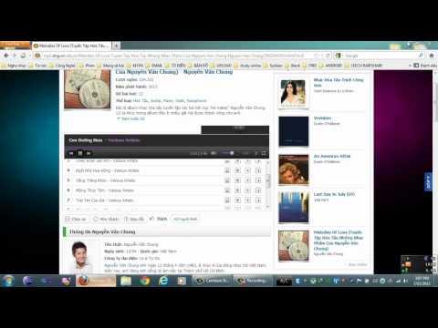 Cách download album nhạc từ mp3.zing.vn bằng IDM