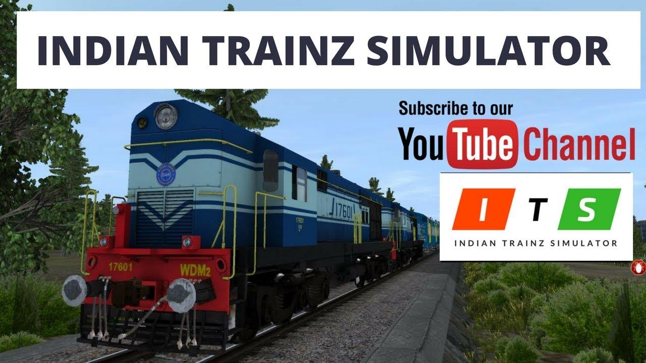 Indian Trainz Simulator Trailor 2018 l Auran Trainz Simulator 2012
