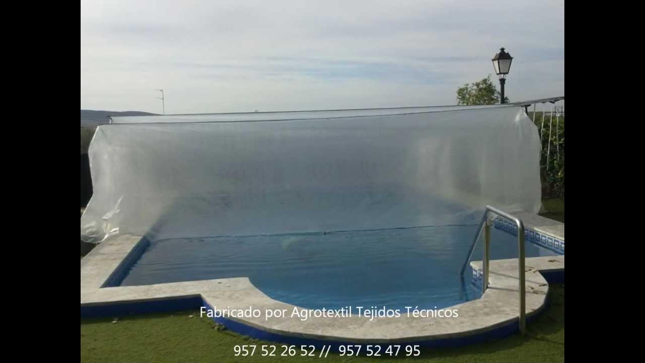 Cubiertas t rmicas colgantes para youtube - Precio de hacer una piscina ...