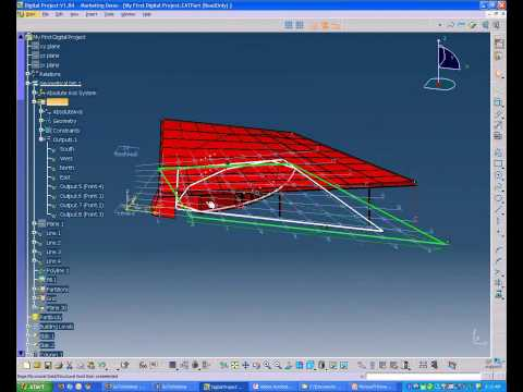 Gehry Technologies Webinar 2-2: Building Parametric Structure in Digital Project V1,R4