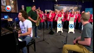 "Andy Frasco performing ""Stop Fuckin Around"" Dutch Senior Citizen Male Fisherman Choir"
