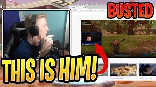 Tfue BUSTED His Stream Sniper That Was Streaming it Live! - Fortnite Best and Funny Moments