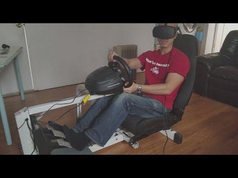 Cheap DIY Racing Simulator Rig