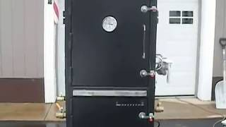 Homemade Insulated Vertical Smoker