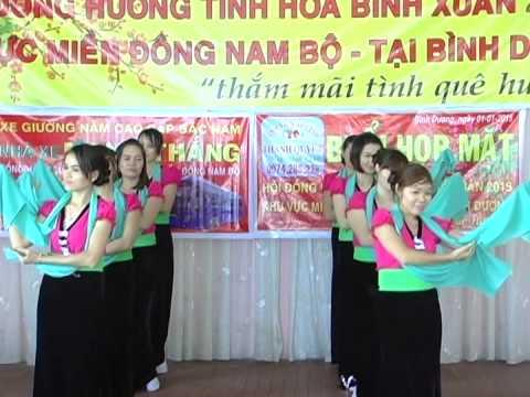 áo cưới - Thanh Quyết { Hoa Đất Mường} nhóm múa vsing