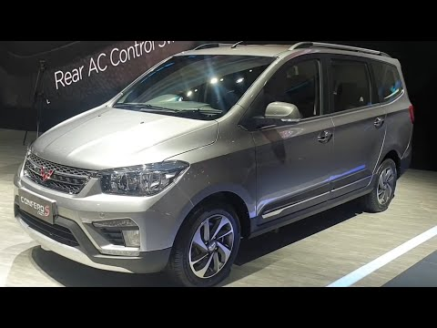 Wuling Confero S ACT 1.5 L Lux+ 2019 In Depth Review Indonesia #IIMS2019