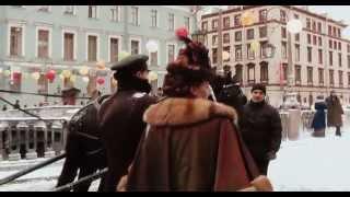 РОССИЯ: съемки Шерлока Холмса в городе Санкт-Петербург Russia
