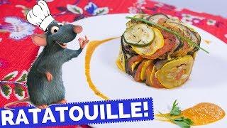 How To Make Ratatouille Movie Recipe La Cooquette Youtube