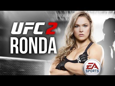 UFC 2 Multiplayer Gameplay - RONDA ROUSEY VS MIESHA TATE #3 TAKEDOWNS