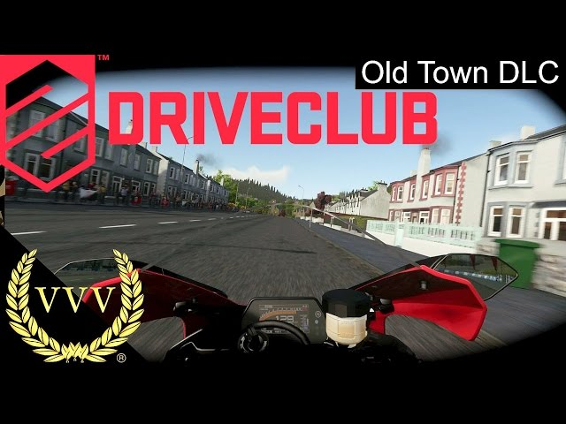 Driveclub DLC - Old Town 2 - Bike Action