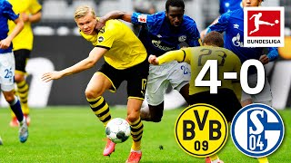Dortmund's biggest revierderby win since 1966► sub now: https://redirect.bundesliga.com/_bwcsthe bundesliga restart began with a real top match. borussia dor...