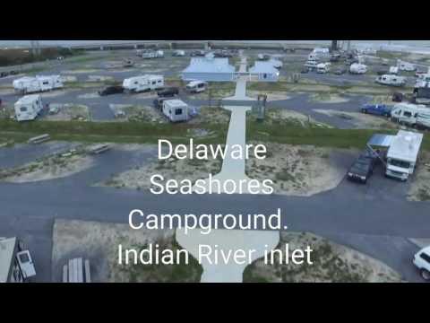 Delaware Seashores Campgrounds