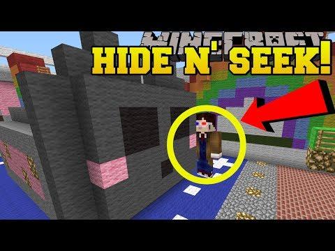 Minecraft: BOYFRIENDS HIDE AND SEEK!! - Morph Hide And Seek - Modded Mini-Game