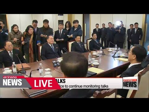 [LIVE/ARIRANG NEWS] Two Koreas begin first high-level talks in two years - 2018.01.09