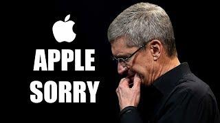 Apple извинилась!