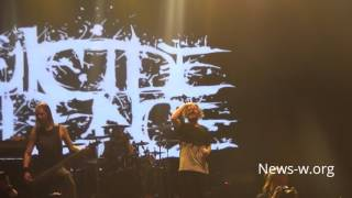 Suicide Silence - live moment in Moscow YOTASPACE 15.03.2017