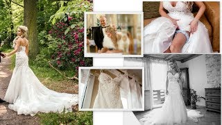 #2  Moja SUKNIA ślubna, dodatki, fryzura | ZDJECIA I URYWKI FILMU