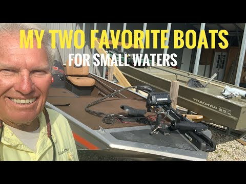 My Two Small Boats Are Perfect For Small Waters