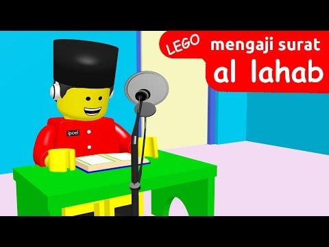 Murottal Animasi, Lego Mengaji Surat Al Lahab !
