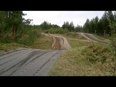 6 years old Tami on his KTM 50 SX (23.8.2012) @ Hummastinvaara