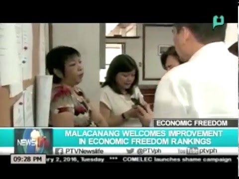 NewsLife: Malacañang welcomes improvement in economic freedom rankings || Feb. 2, 2016