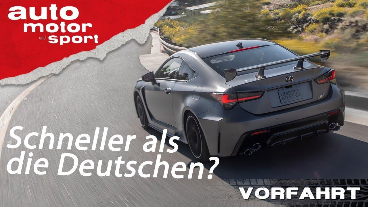 Lexus RC F Track Edition: Leckeres Leichtgewicht? - Fahrbericht | auto motor und sport