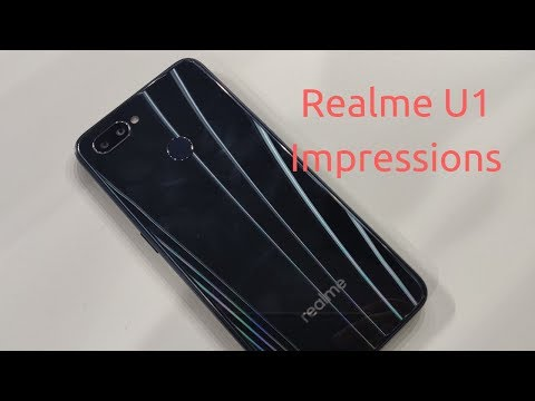 Realme U1 (4GB) Review Videos