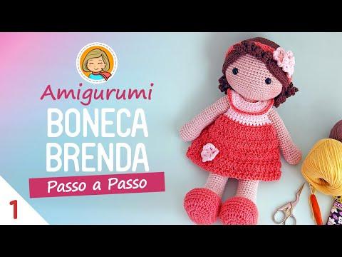 Boneca de crochê: +40 ideias com amigurumi fantásticas ... | 360x480