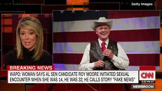 Report  Moore had sexual encounter with teen